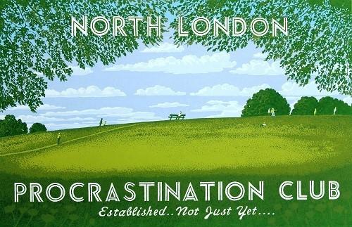 Martin Grover, North London Procrastination Club II, 2017