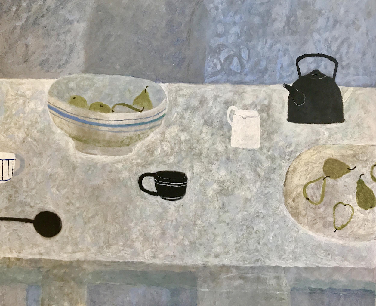 Sarah Bowman, The Black Stove Kettle, 2017, White Space Gallery