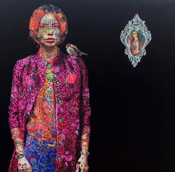 Solmaz Tohidloo, Untitled, £6,000, Eclectic Gallery.
